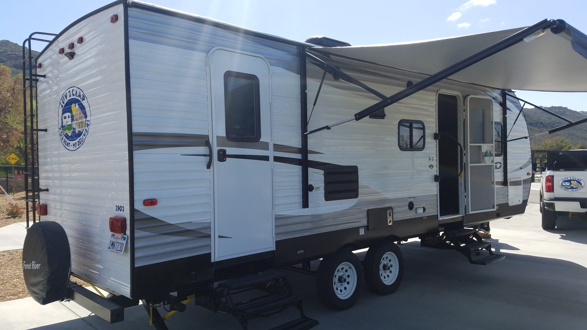 Luv2Camp Temecula RV Camping Trailer Rentals Delivered