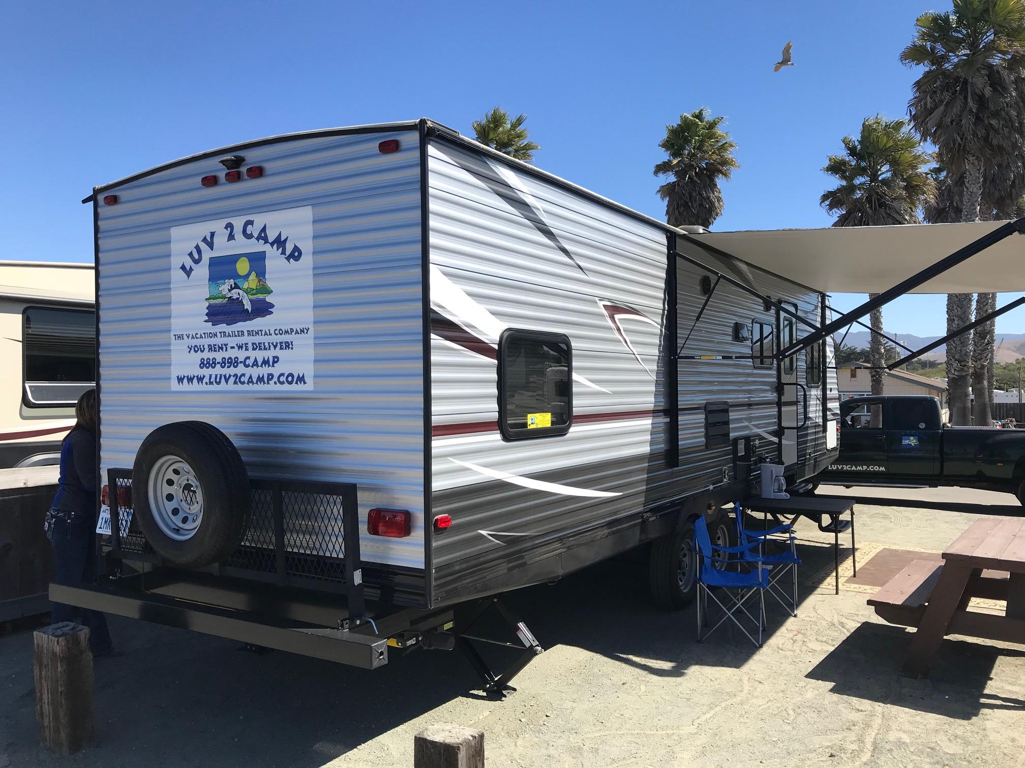 Luv 2 Camp San Simeon - Morro Bay RV trailer rentals